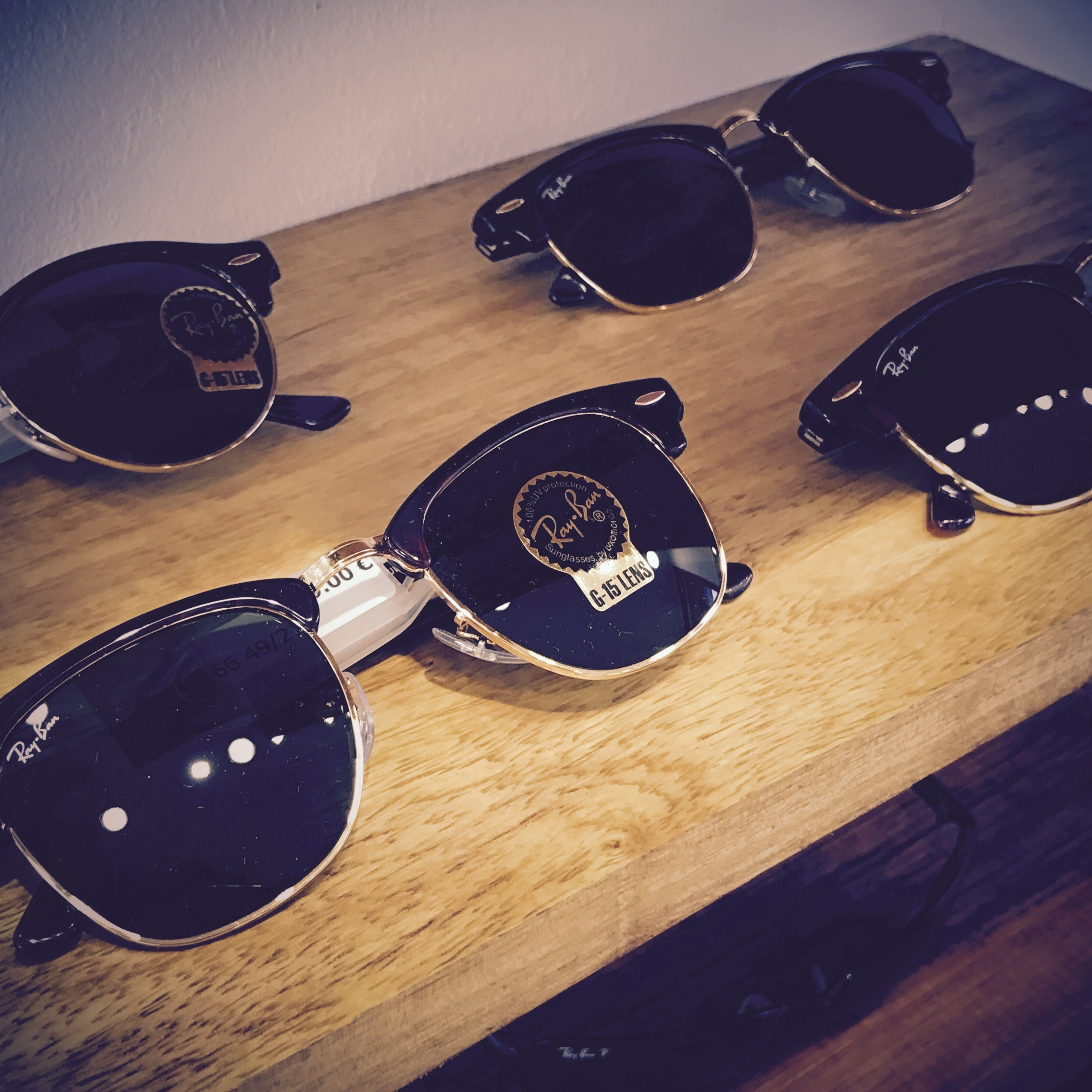Classique Ray Ban Clubmaster